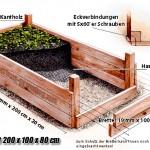 Hochbeet-Bauplan