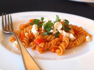 One Pot Pasta (3): mit roten Linsen | alles aus dem garten