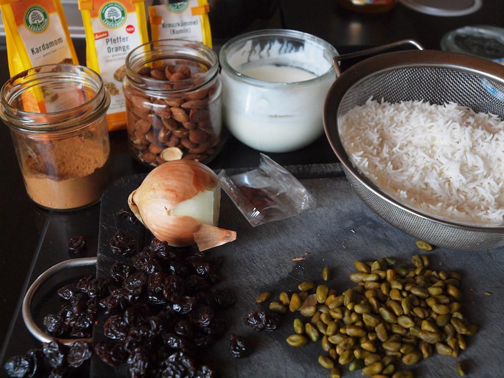 Edel: Persischer goldener Reis